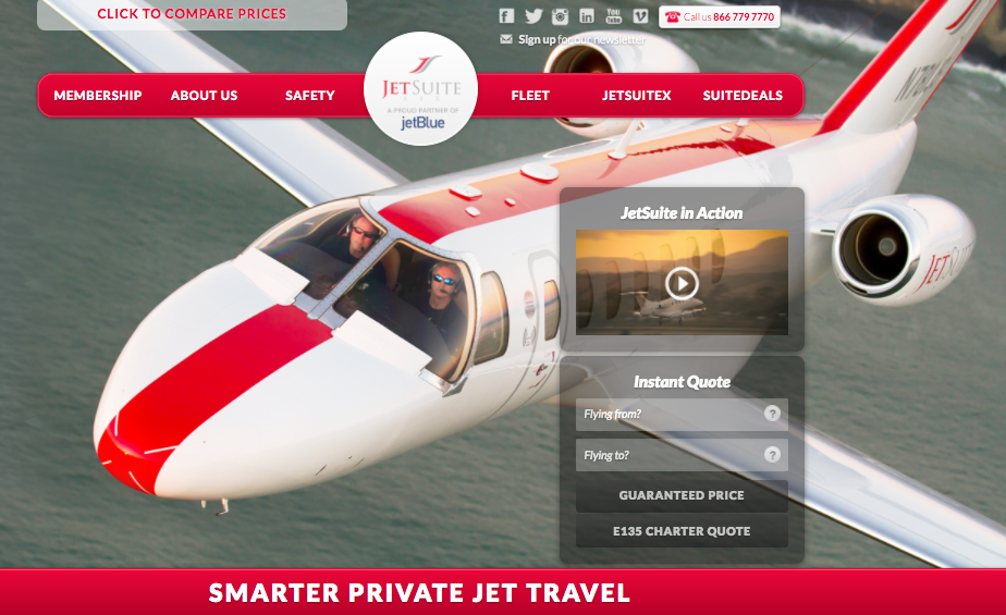 JetSuite Expands Into Aircraft Management  Private Jet